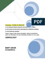 Gemstone Gemology