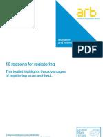 ARB - 10 Reasons for Registering