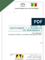 Manuel Du Participant - Andragogie Et Montage de Projets VF