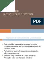 Costo ABC Joseba