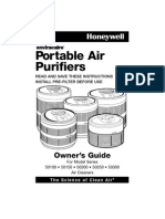 Honeywell Portable Air Purifiers Manual