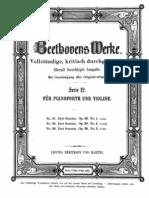 Beethoven - 3 Violin Sonatas, Op. 30