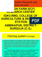 Farming System Research and Advisory Services