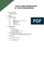 Format Tata Cara Pembuatan Tugas Tulis Mahasiswa (1)