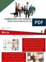 Areas Funcionales de La Adm. Empresas