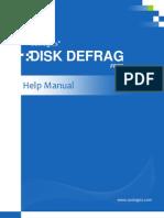 Disk Defrag Manual