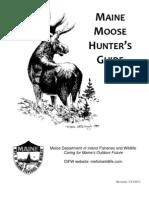 2013Moose Hunters Guide