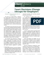 Supreme Court Decisions Change 