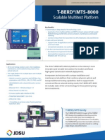 T-BERD/MTS-8000 Product Brief