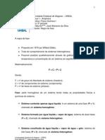 5º Periodo - regra da fase 2013PG