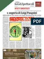 1.7.2013, 'Mostra Matteo Focaccia a Cervia, A Cura Di Andrea Speziali', Corriere Di Romagna