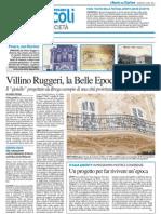 2.7.2013, 'Villino Ruggeri, La Belle Epoque Pesarese', Il Resto Del Carlino