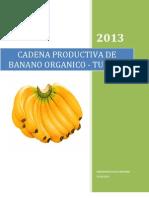 Cadena Productiva de Banano Organico de Tumbes