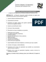 Requisitos Para Instructor Capacitador