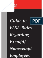 Adp Flsa Rules on Exempt v Non Exempt