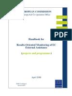 Handbook on Monitoring