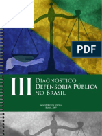 III Diagnóstico Defensoria Pública no Brasil