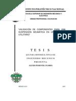 Validacion de Componentes Para Una Suspension Neumatica en Un Vehiculo Utilitario
