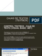 Cajas de Textos (Textbox)Cl3