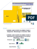 Corine Land Cover Colombia Fases i y II