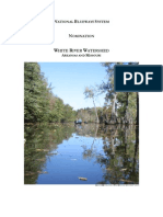 Nomination for White RIver Watershed Designation as a National Blueway