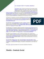Modelo Semiosis Social