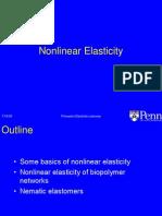 Nonlinear Elasticity