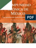 La Impunidad Crónica de México. Una aproximación desde los derechos humanos.