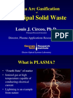 Lou Circeo-Plasma Arc Gasification of Solid Waste