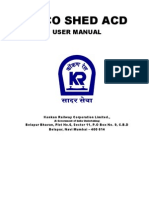 Loco Shed ACD User Manual