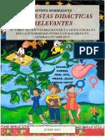 Propuestas Didácticas Relevantes de la Escuela Normal Primaria Oficial, Profr. Jesús Merino Nieto