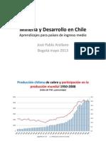 Arellano Mayo2013 Mineria y Desarrollo en Chile