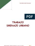 Toria Drenaje Urbano