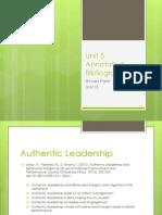 Unit 5 Powerpoint