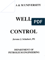 basic Well Control fundamentals in petroleum industry
