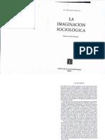 La Imaginacion Sociologica