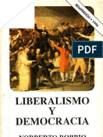 Liberalismo y Democracia