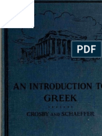 Crosby & Schaeffer - An Introduction to Greek