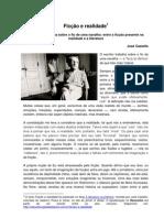 Ficção e realidade JOSÉ CASTELLO
