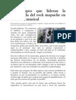 Los Grupos Que Lideran La Arremetida Del Rock Mapuche en La Escena Musical