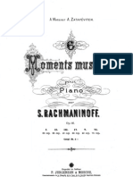 Rachmaninov - 6 Moments Musicaux Ed.jurgenson