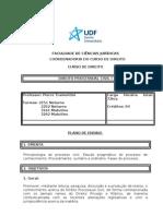 37635716 Plano de Ensino Direito Processual Civil i