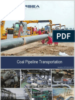 Coal Pipeline Transportation