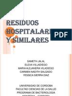 Residuos Hospitalarios y Similares