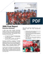 City of Chicago's Bicycling Ambassadors 2008 Final Report