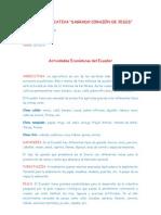Actividades Económicas del Ecuador