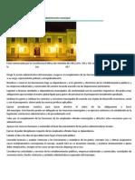 Funciones del alcalde relacionadas a la administración municipal