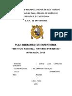 Plan Didactico de Ginecologia