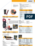 Kw06-286 Clamp Meter Mini Ac Autorangin