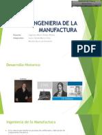 Ingenieria de La Manufactura